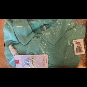 Men's medium Izod polo golf shirt